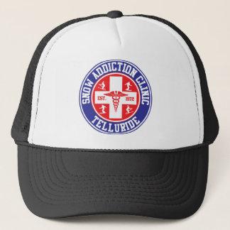 Telluride Snow Addiction Clinic Trucker Hat