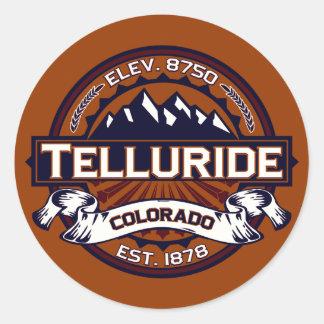 Telluride Vibrant Classic Round Sticker
