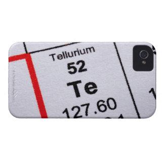 Tellurium molecular formula iPhone 4 cover