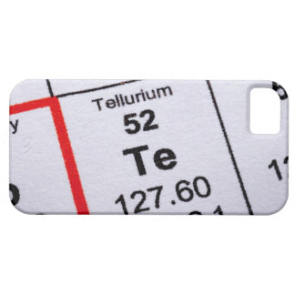 Tellurium molecular formula iPhone 5 cases
