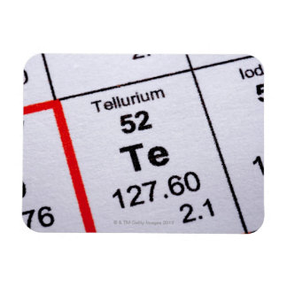 Tellurium molecular formula rectangular photo magnet
