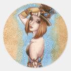 Telsa - Steampunk Sticker