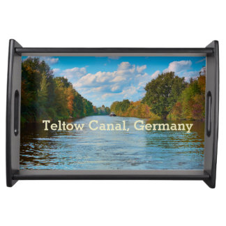 Teltow Canal Germany Serving Tray