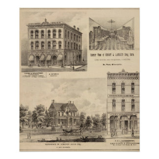 Temme and Schnittger, Manufacturers, Minnesota Poster