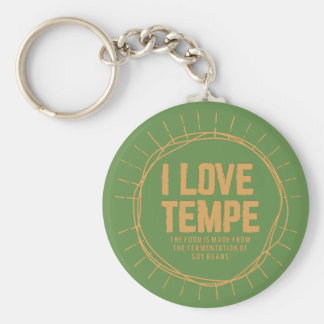 tempe or soybeans key ring