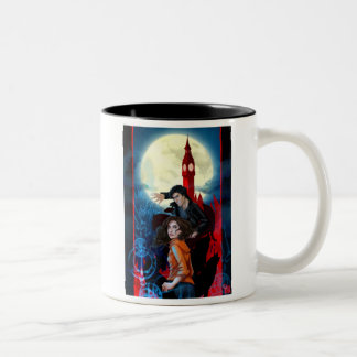 Temperance and Alastair: Magical Attack Two-Tone Coffee Mug