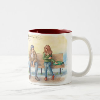 Temperance and Alastair: The Meeting Two-Tone Coffee Mug