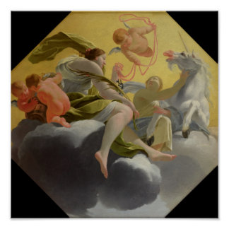 Temperance, from series of Four Cardinal Poster