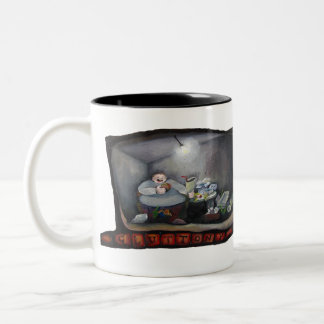 Temperance- Gluttony Two-Tone Mug