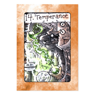 Temperance Tarot Card Pack Of Chubby Business Cards