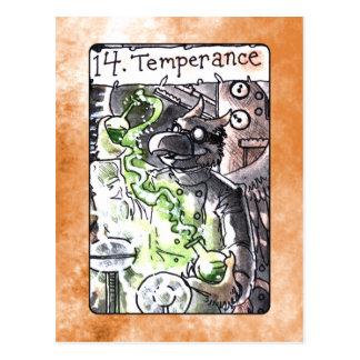 Temperance Tarot Card Postcard