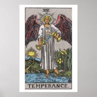 Temperance Tarot Card Poster