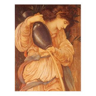Temperantia by Burne Jones Vintage Victorian Art Post Cards