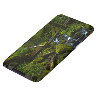 Temperate Rainforest Stream in Columbia River iPod Touch Case-Mate Case