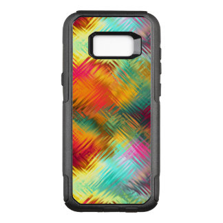 Tempered Rainbow Glass OtterBox Commuter Samsung Galaxy S8+ Case