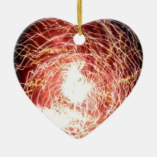 Tempest Ceramic Heart Decoration
