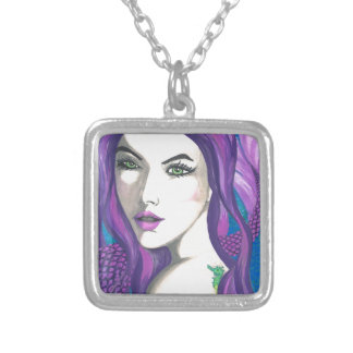 Tempest Silver Plated Necklace