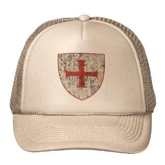 Templar Cross, Distressed Cap