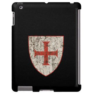 Templar Cross, Distressed iPad Case