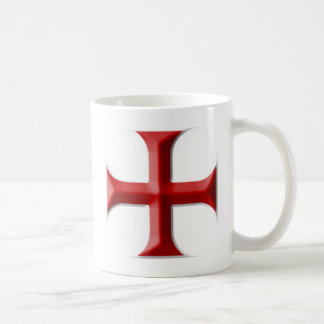 Templar Cross Coffee Mugs
