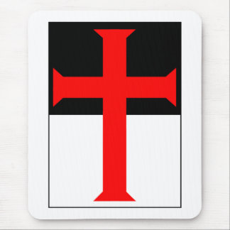 Templar Cross On Beausant Mouse Pad