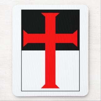 Templar Cross On Beausant Mouse Pad
