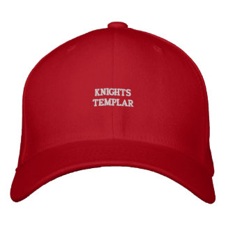 Templar Embroidered Hat