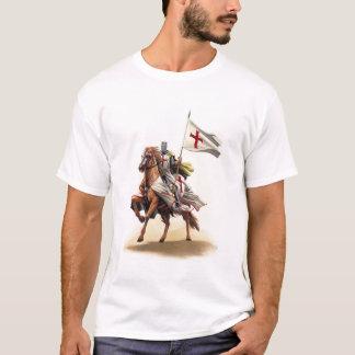 Templar Knight Crusader Jerusalem Cross T-Shirt