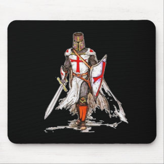 Templar Knight Mouse Pad