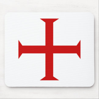templar knights red cross malta teutonic hospitall mouse mat