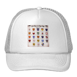 Templar Master Heraldry Cap