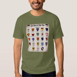 Templar Master Heraldry T Shirts