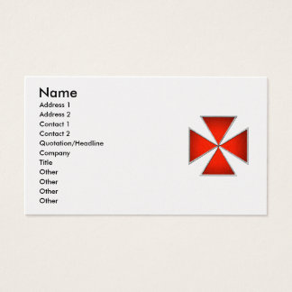 Templar Pattee Business Card