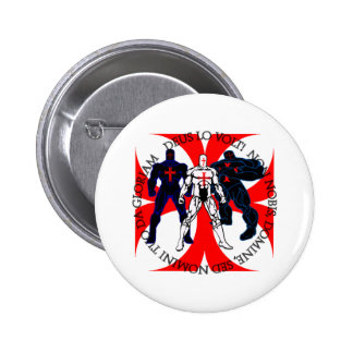 Templar Superheroes 6 Cm Round Badge