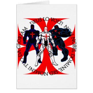 Templar Superheroes Card