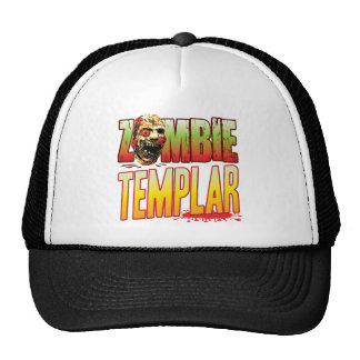 Templar Zombie Head Mesh Hat