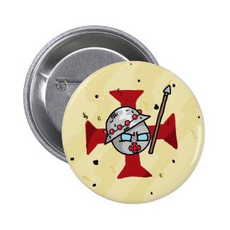 Templarball 6 Cm Round Badge