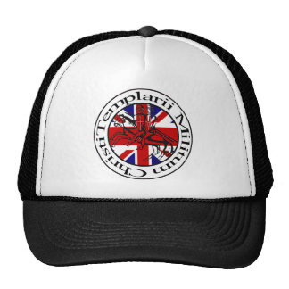 Templarii Militum of Christ Great Britain Cape Mesh Hat