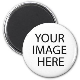 template 6 cm round magnet