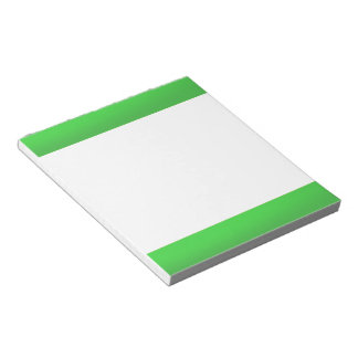 TEMPLATE Blank DIY easy customize add TEXT PHOTO Notepads