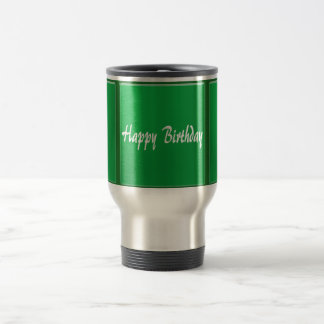 TEMPLATE Blank DIY easy customize add TEXT PHOTO Travel Mug