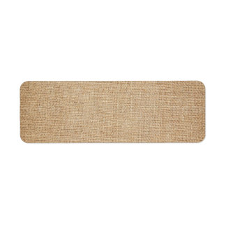 Template - Burlap Background