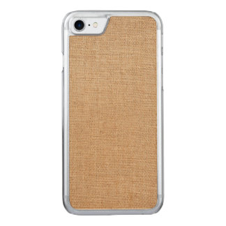Template - Burlap Background Carved iPhone 8/7 Case