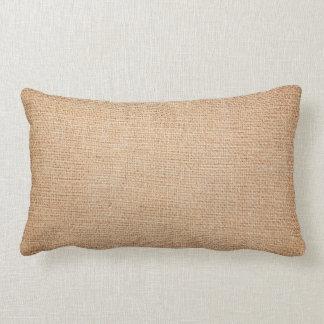 Template - Burlap Background Cushion