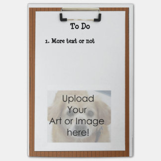 TEMPLATE - Clipboard Post-it® Note Note