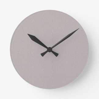TEMPLATE Colored Easy to ADD TEXT and IMAGE Round Wallclocks