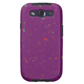 TEMPLATE Colored easy to ADD TEXT and IMAGE gifts Samsung Galaxy S3 Cover