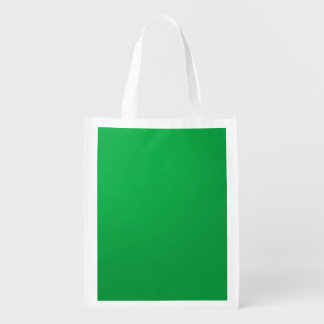 Template DIY add TEXT LOGO PHOTO IMAGE Reusable Grocery Bag