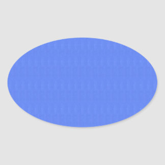 Template DIY Blanks 5 shades n Textures of Blue Oval Sticker