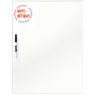 Template DIY easy customize add TEXT PHOTO IMAGE Dry Erase Board
